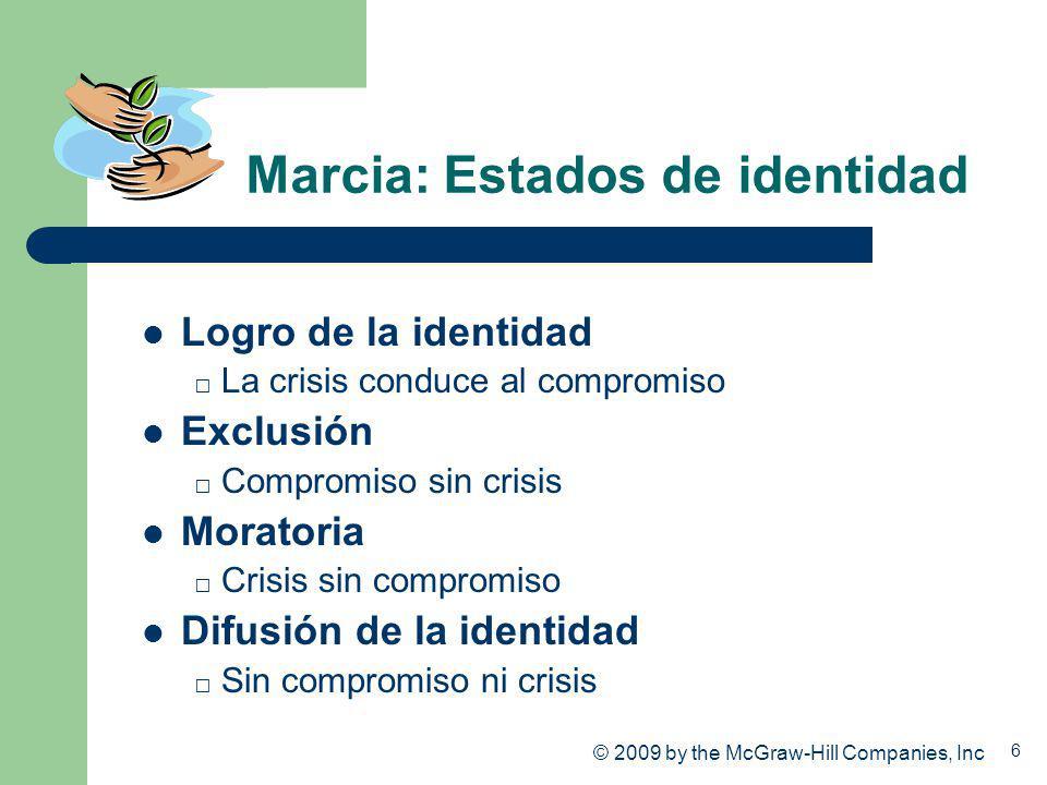 Marcia: Estados de identidad