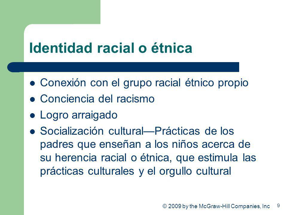 Identidad racial o étnica
