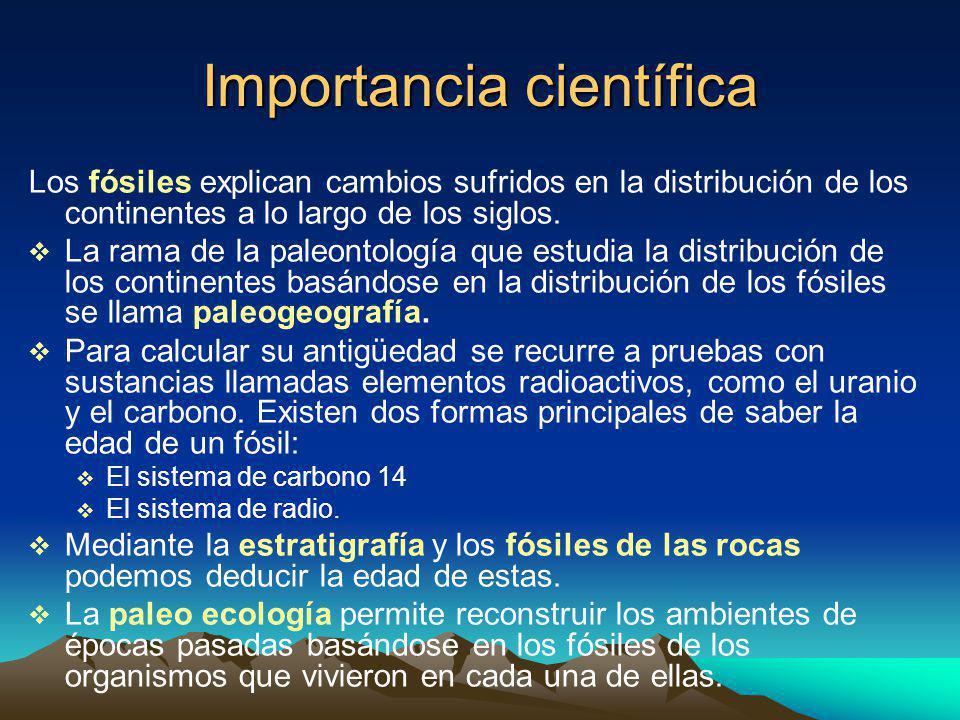 Importancia científica