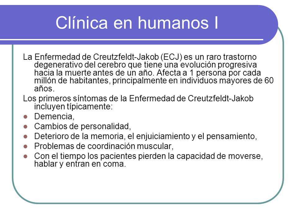 Clínica en humanos I