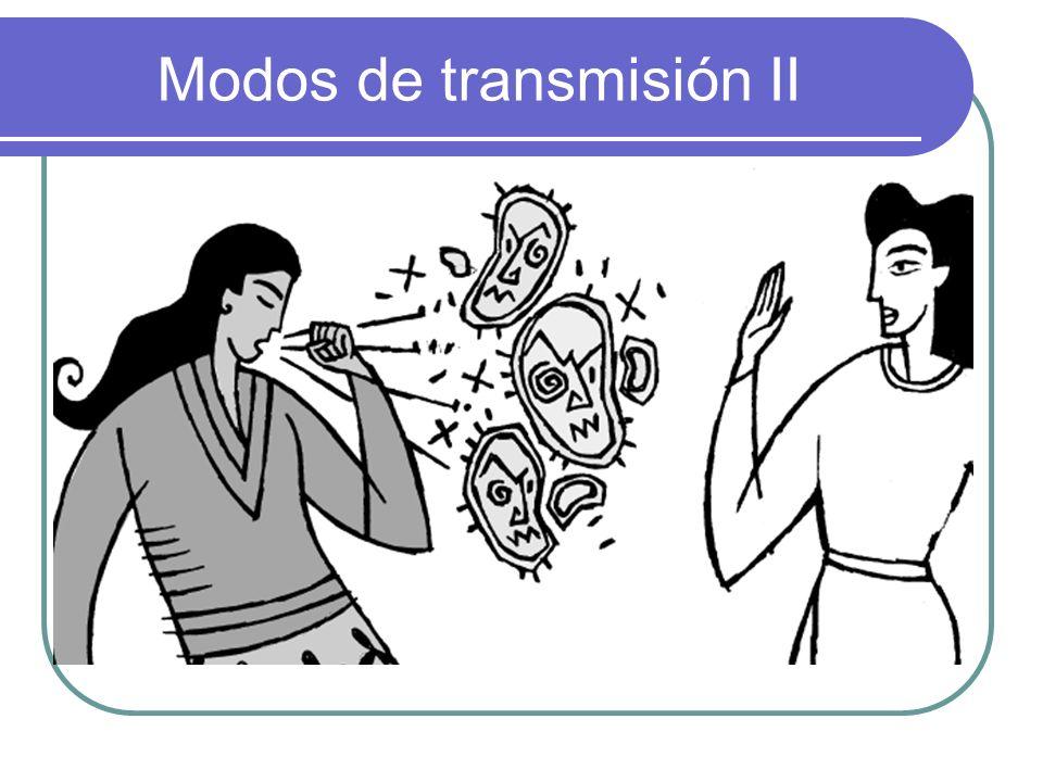 Modos de transmisión II