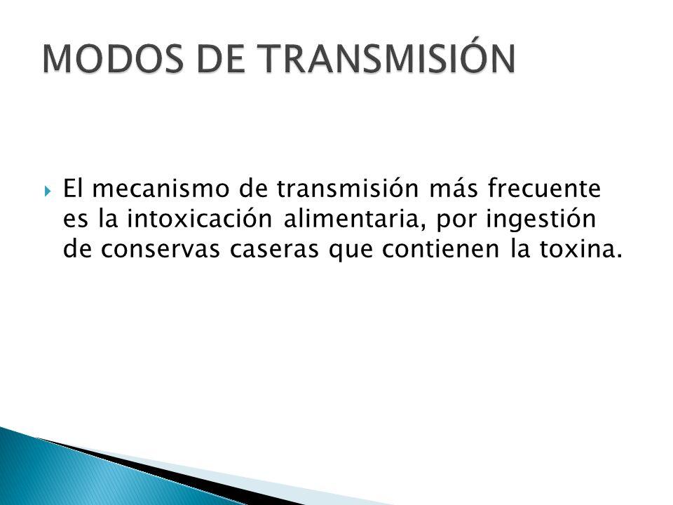 MODOS DE TRANSMISIÓN