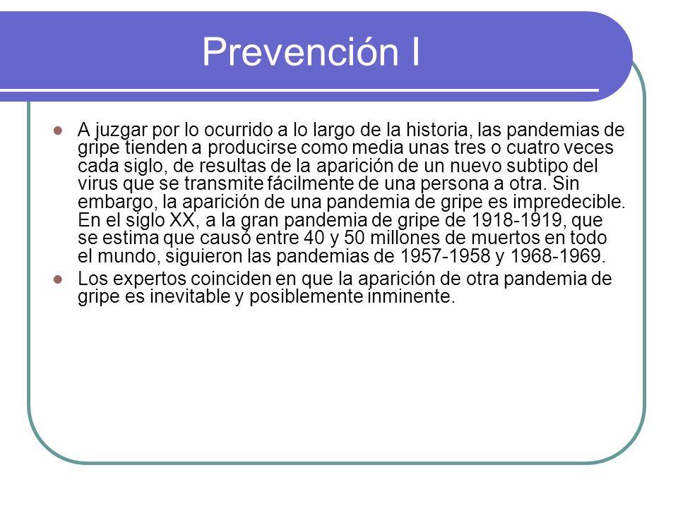 Prevención I