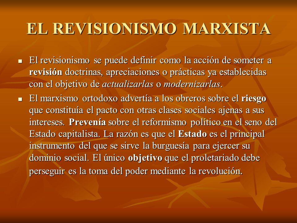 EL REVISIONISMO MARXISTA