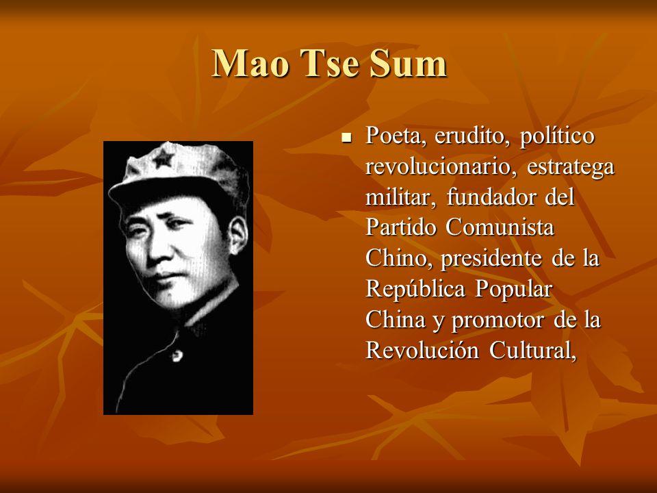 Mao Tse Sum