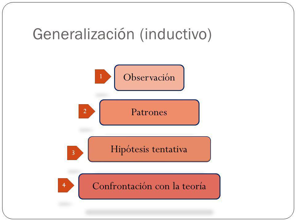 Generalización (inductivo)