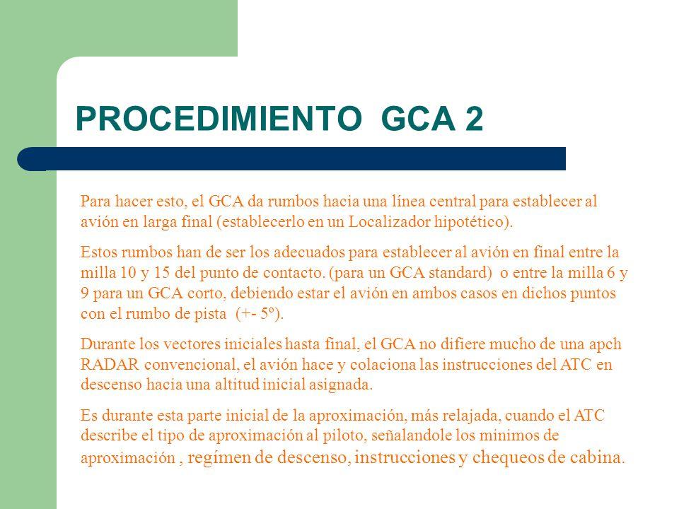 PROCEDIMIENTO GCA 2