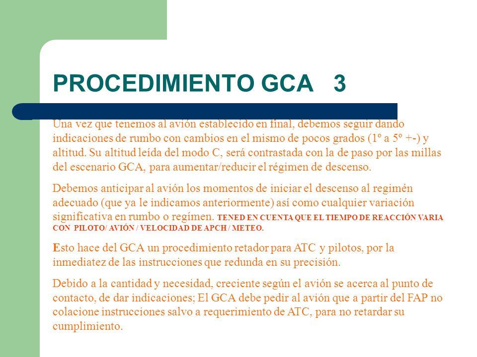 PROCEDIMIENTO GCA 3