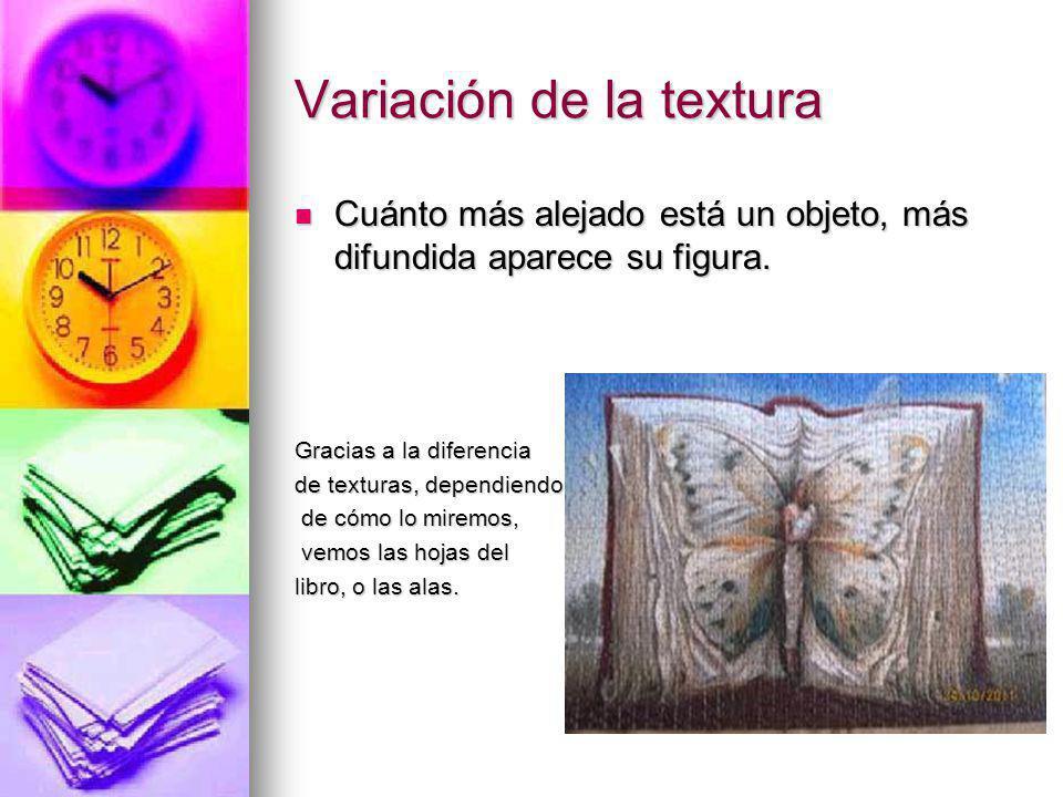Variación de la textura
