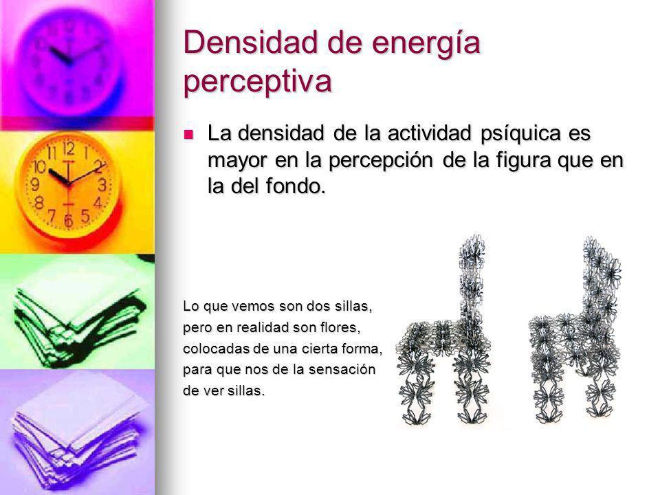 Densidad de energía perceptiva