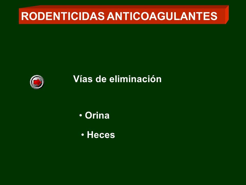 RODENTICIDAS ANTICOAGULANTES