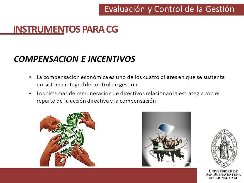 COMPENSACION E INCENTIVOS