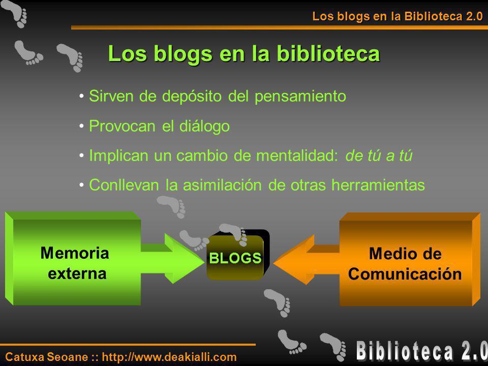 Los blogs en la biblioteca