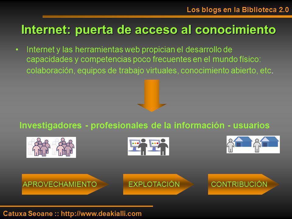 Internet: puerta de acceso al conocimiento