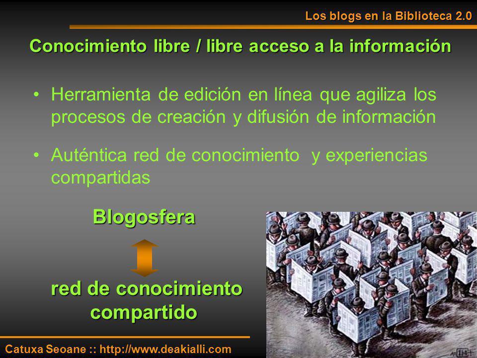 Conocimiento libre / libre acceso a la información