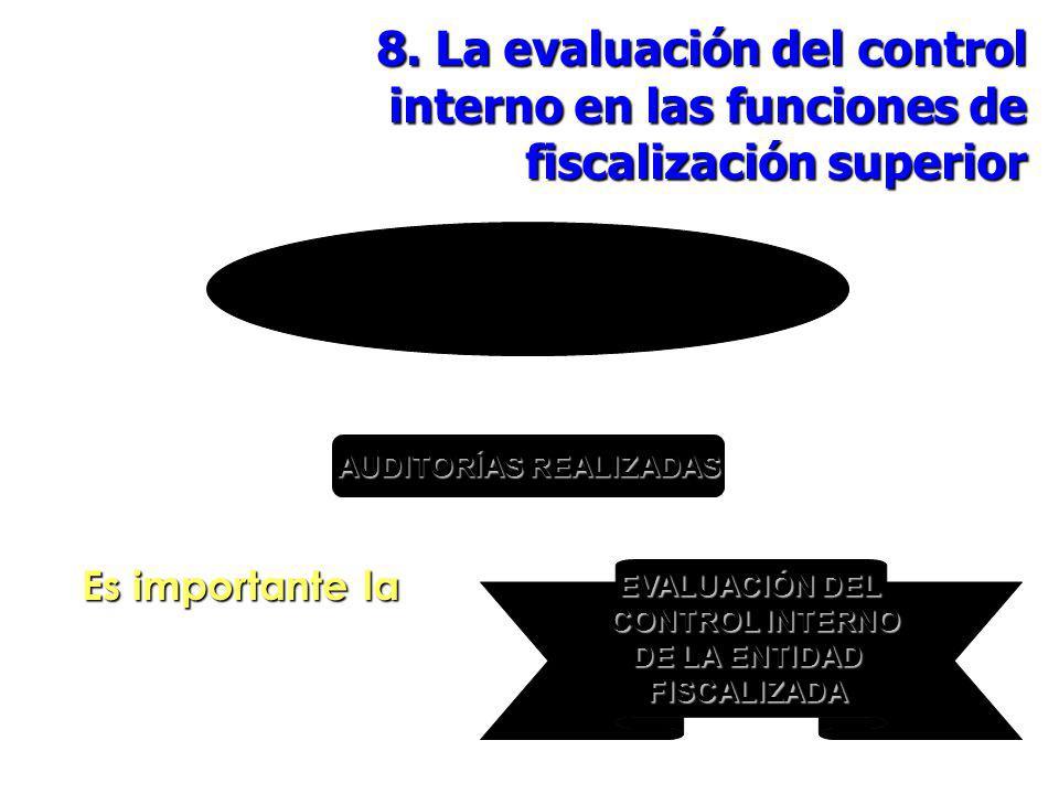 ÓRGANOS DE FISCALIZACIÓN SUPERIOR AUDITORÍAS REALIZADAS