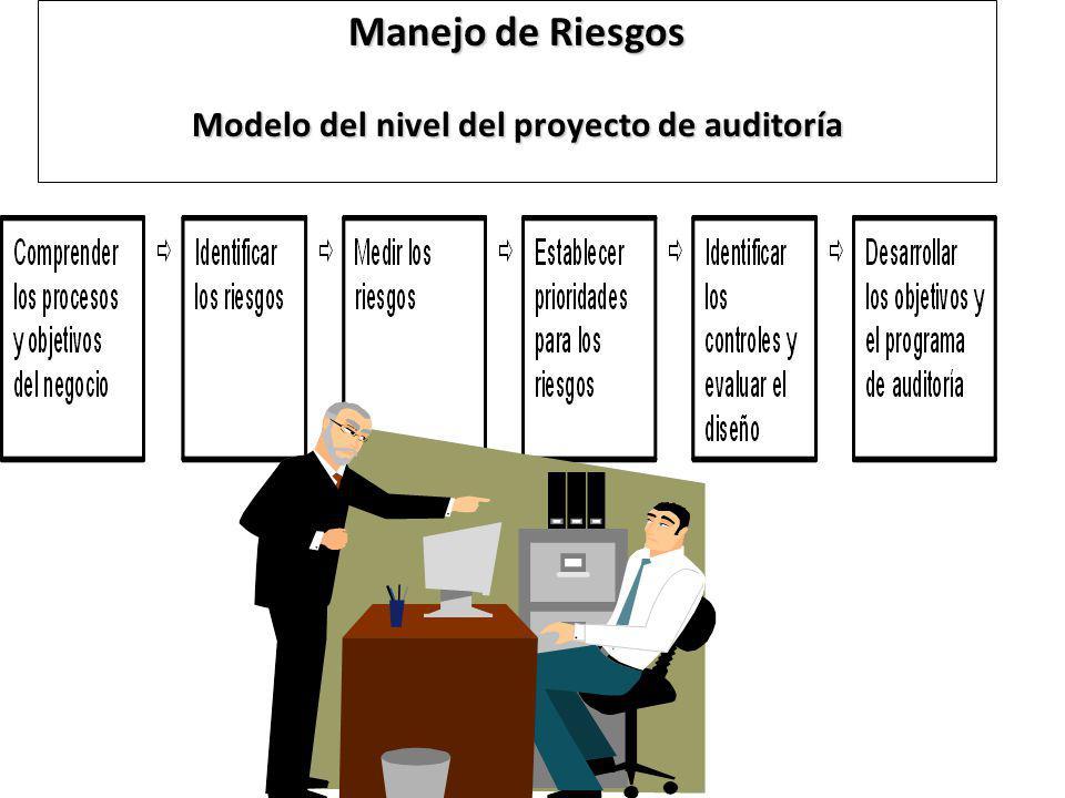 Manejo de Riesgos Modelo del nivel del proyecto de auditoría