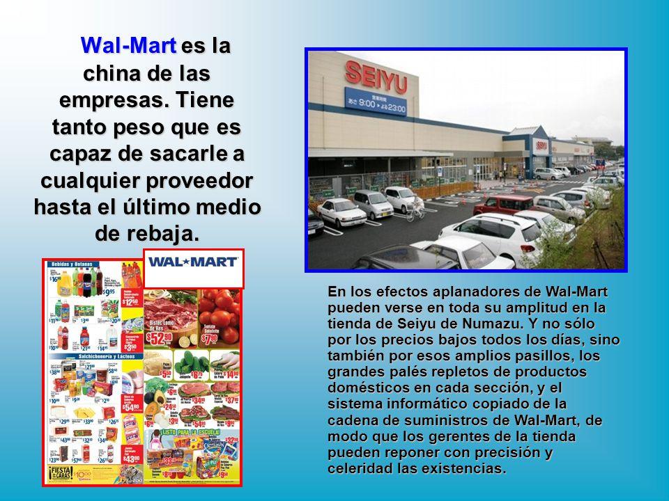 Wal-Mart es la china de las empresas
