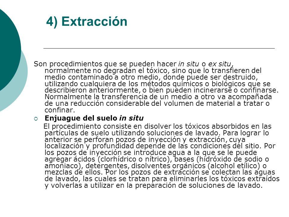 4) Extracción