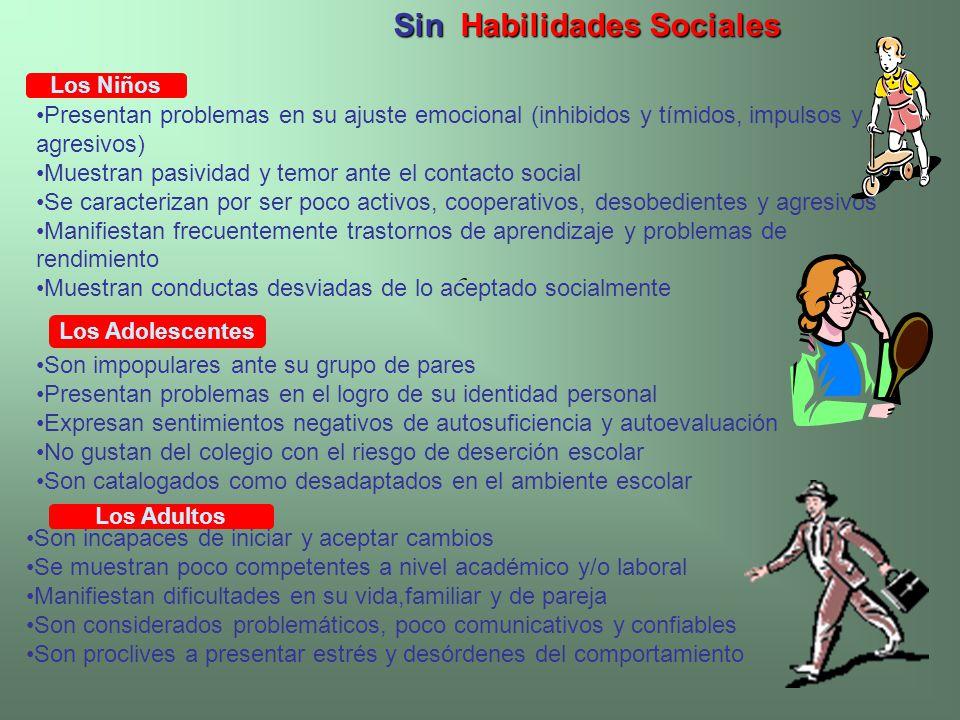 Sin Habilidades Sociales