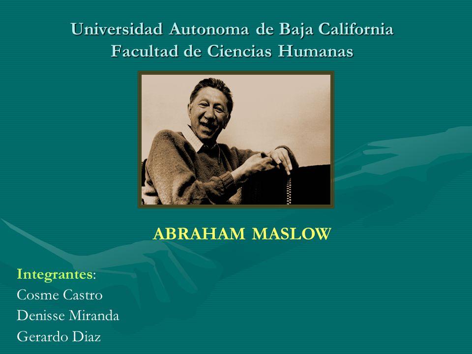Universidad Autonoma de Baja California Facultad de Ciencias Humanas