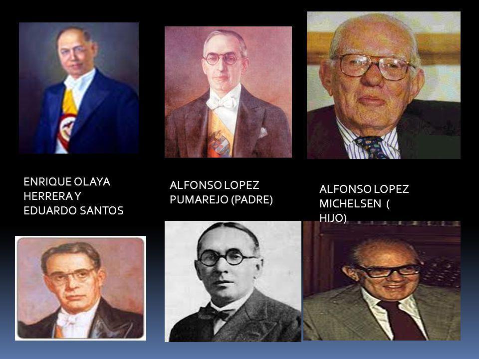ENRIQUE OLAYA HERRERA Y EDUARDO SANTOS