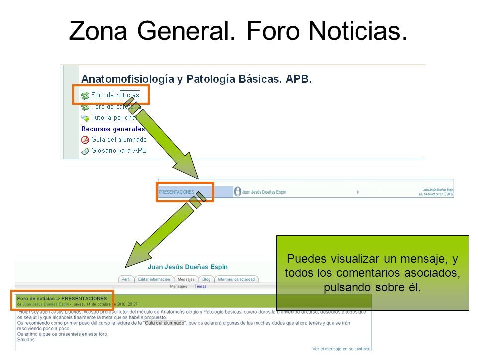 Zona General. Foro Noticias.