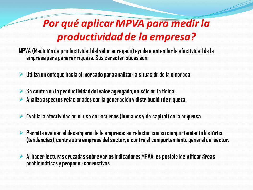 Por qué aplicar MPVA para medir la productividad de la empresa