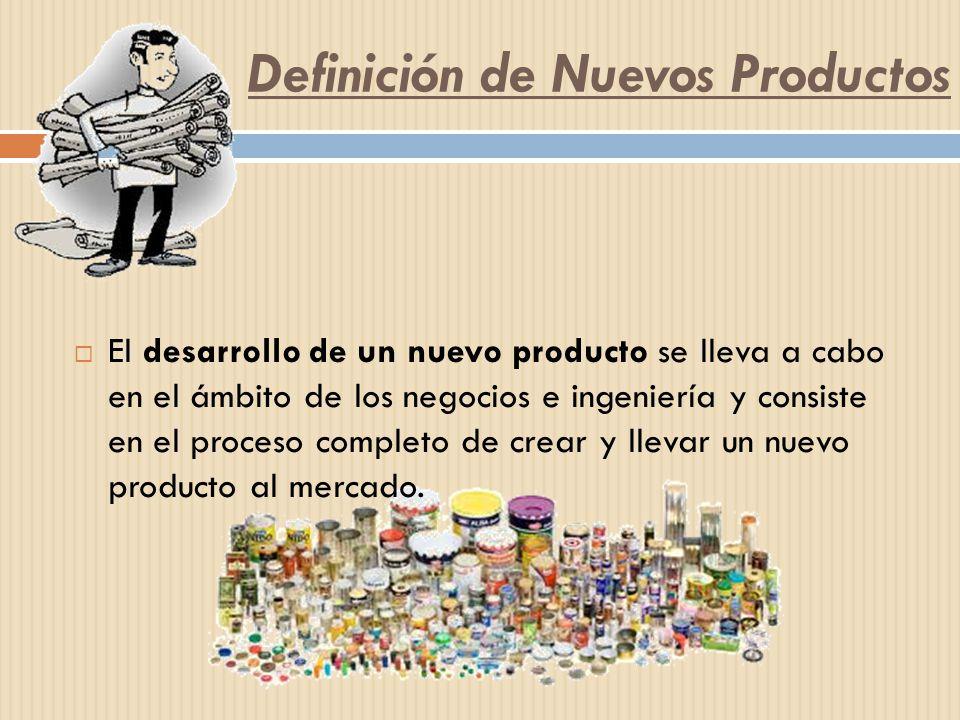 Definición de Nuevos Productos