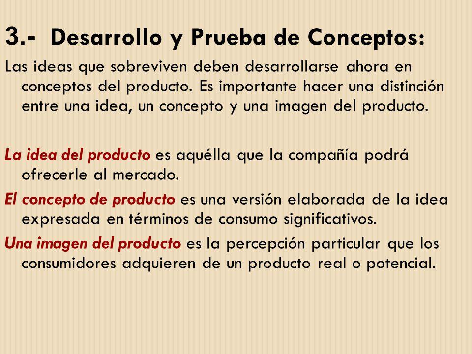 3.- Desarrollo y Prueba de Conceptos: