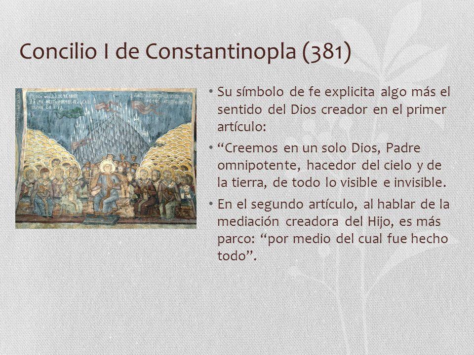 Concilio I de Constantinopla (381)