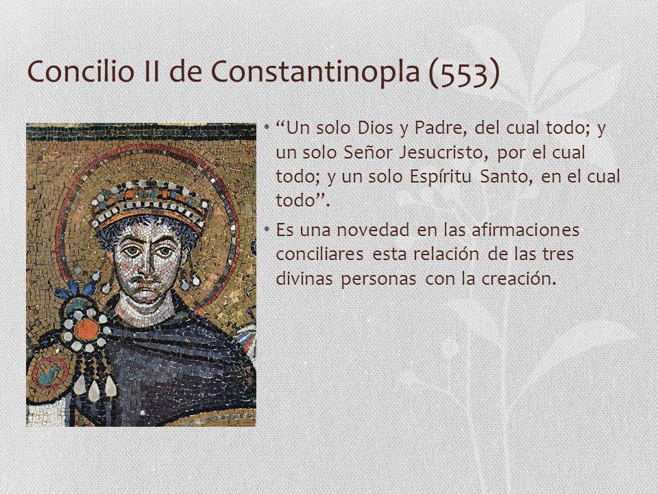 Concilio II de Constantinopla (553)