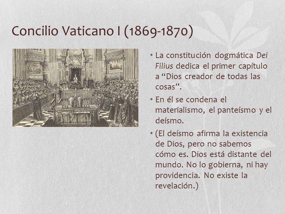 Concilio Vaticano I (1869-1870)