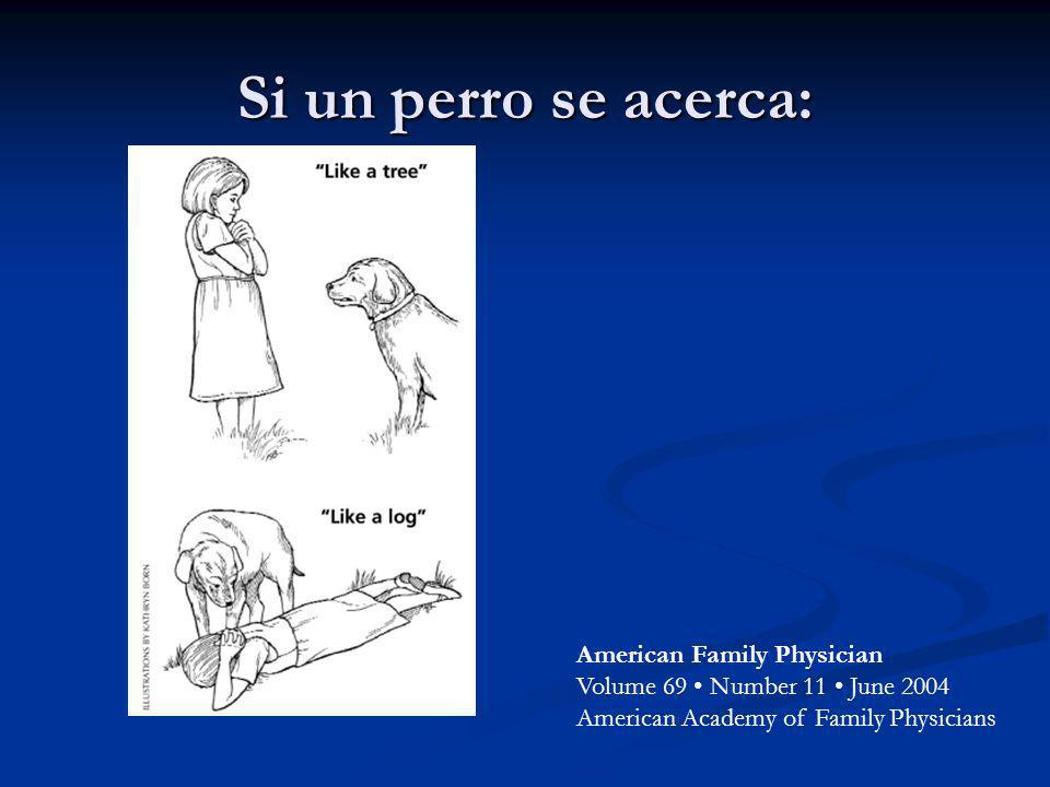 Si un perro se acerca: American Family Physician Volume 69 • Number 11 • June 2004 American Academy of Family Physicians.