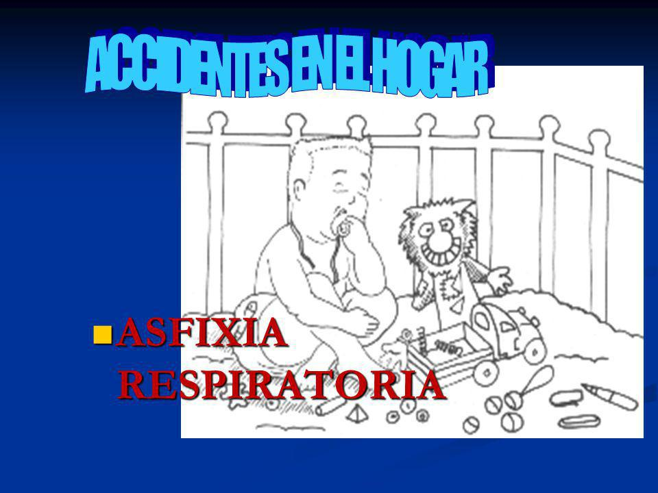 ACCIDENTES EN EL HOGAR ASFIXIA RESPIRATORIA