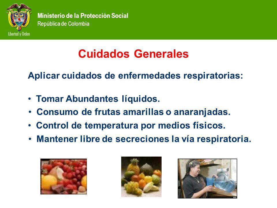 Cuidados Generales Aplicar cuidados de enfermedades respiratorias: