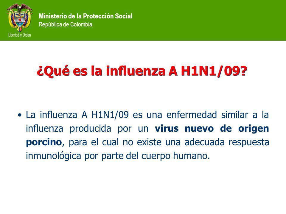 ¿Qué es la influenza A H1N1/09