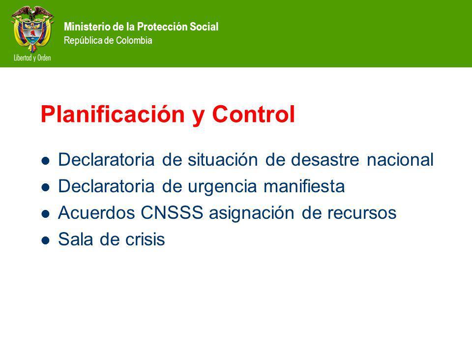 Planificación y Control