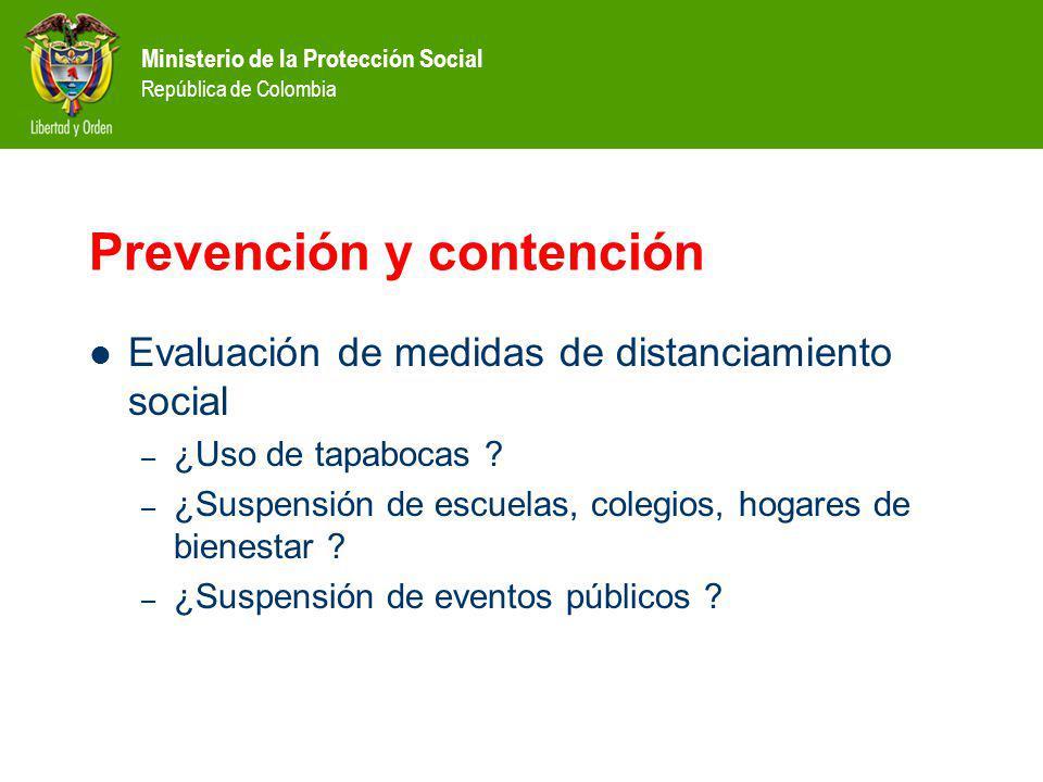 Prevención y contención