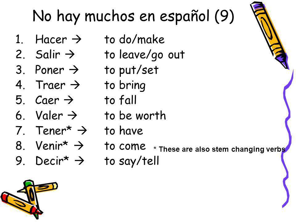 No hay muchos en español (9)