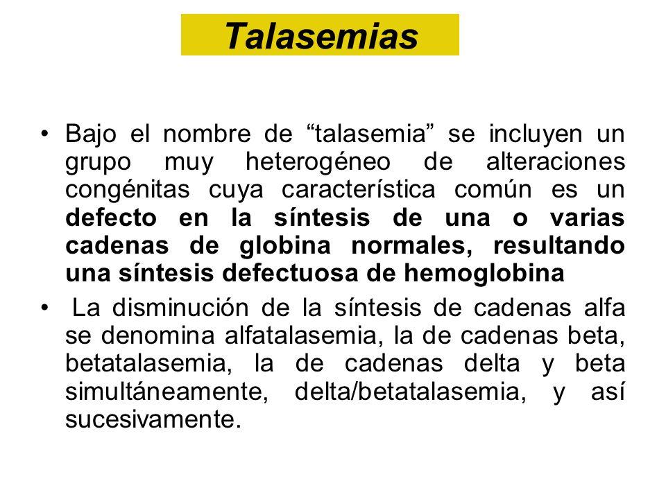 Talasemias