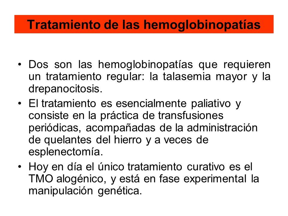 Tratamiento de las hemoglobinopatías