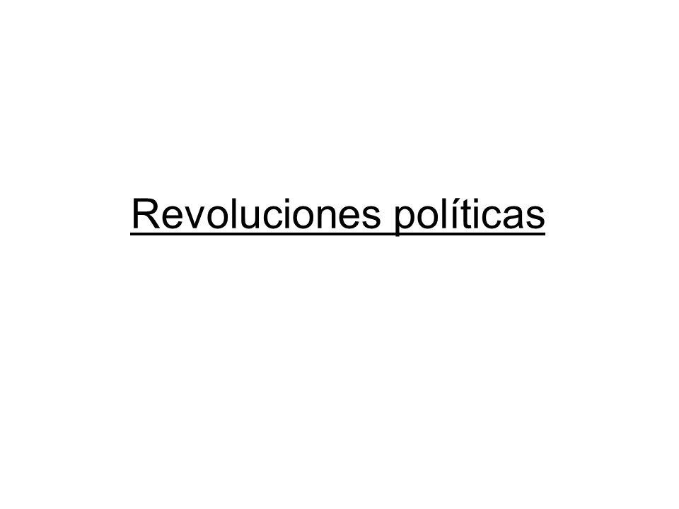 Revoluciones políticas