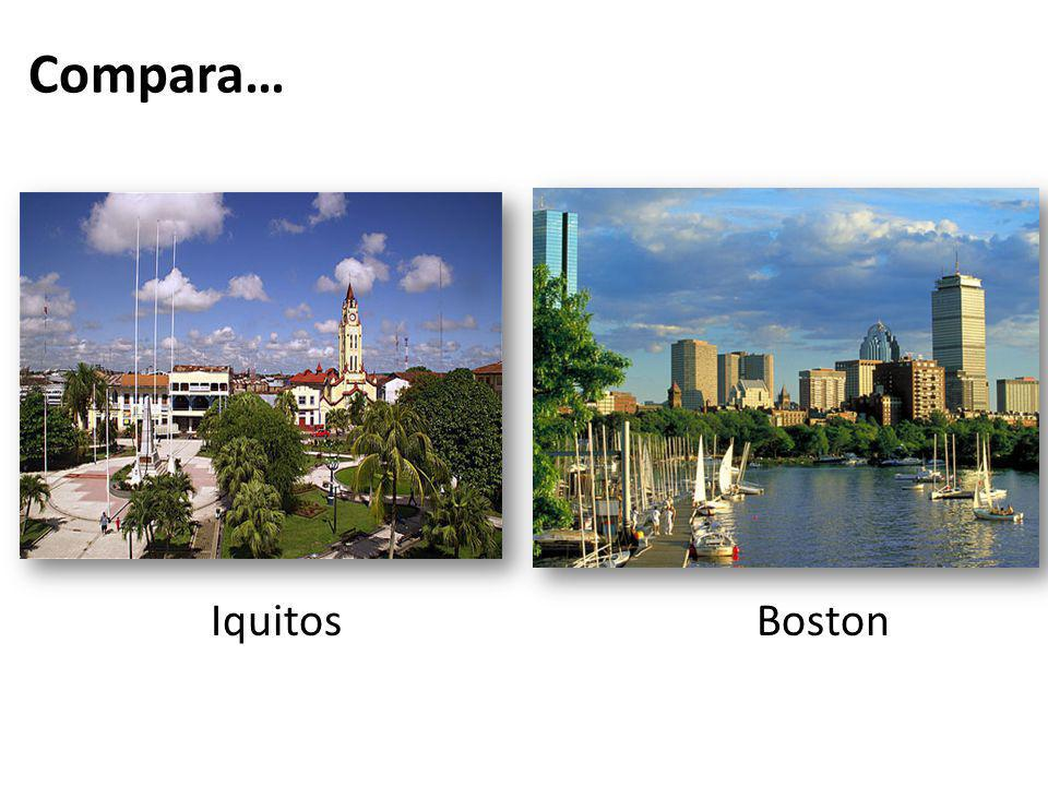 Compara… Iquitos Boston