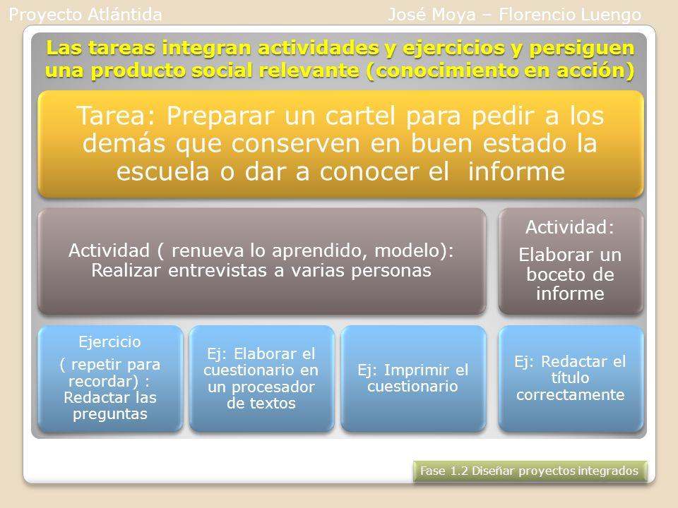 Proyecto AtlántidaJosé Moya – Florencio Luengo.