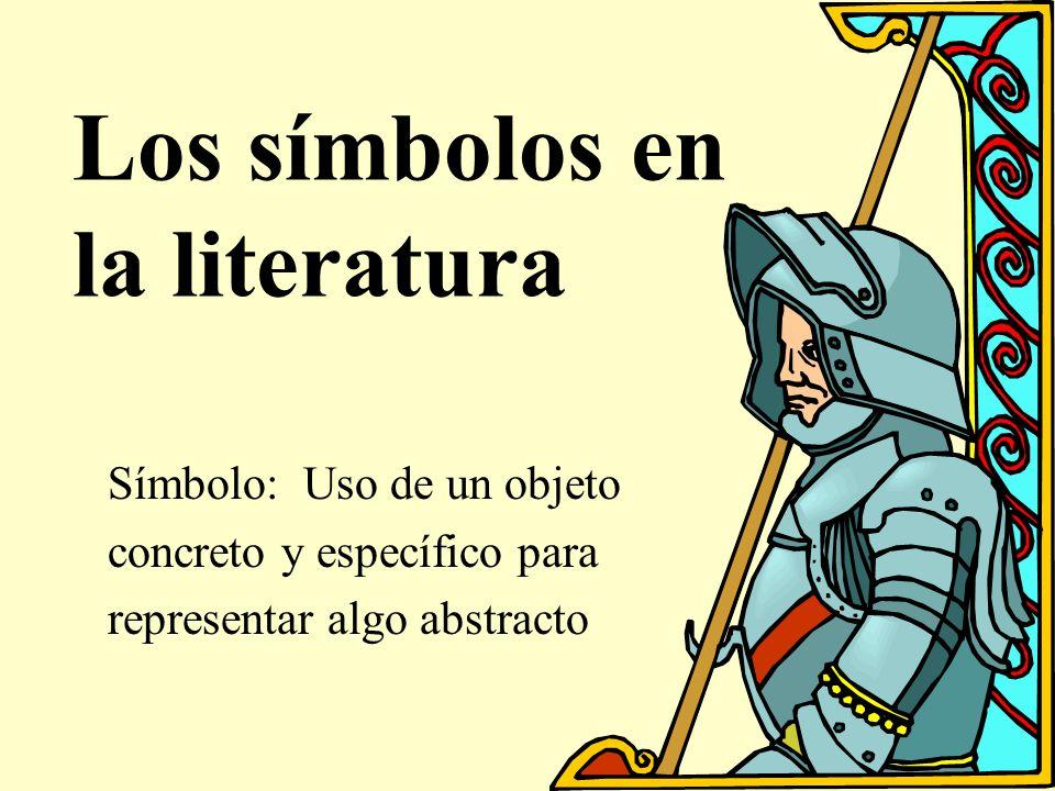Los símbolos en la literatura