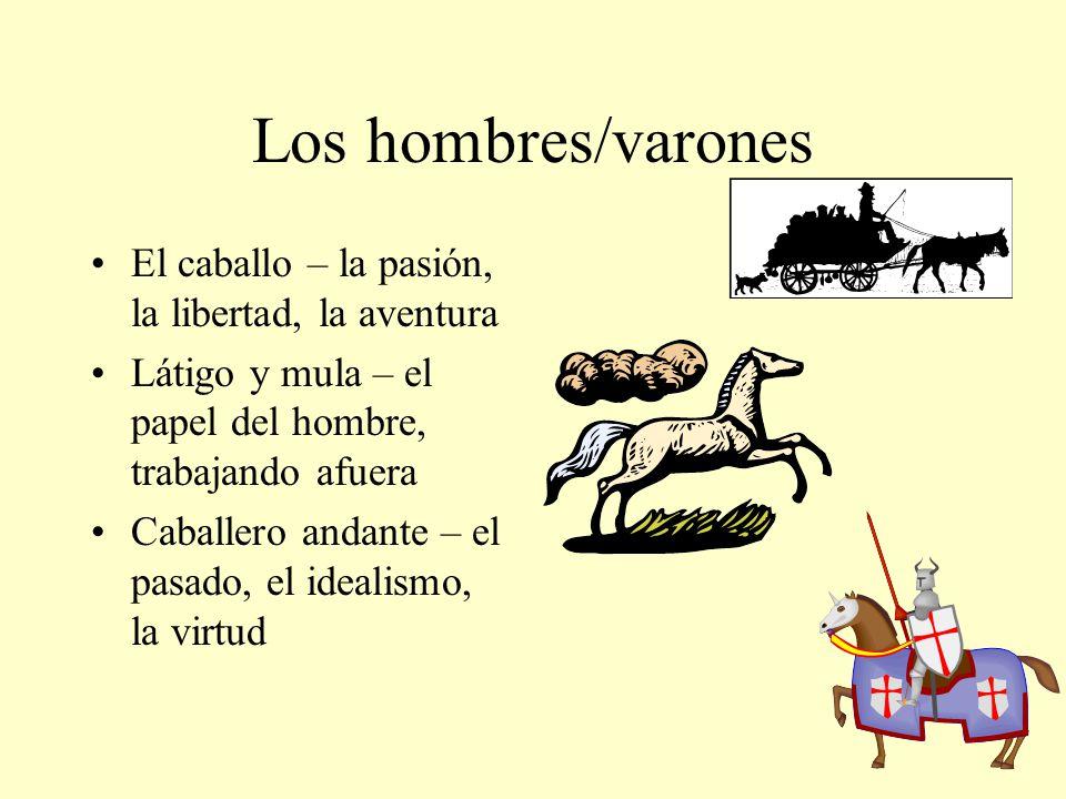 Los hombres/varones El caballo – la pasión, la libertad, la aventura