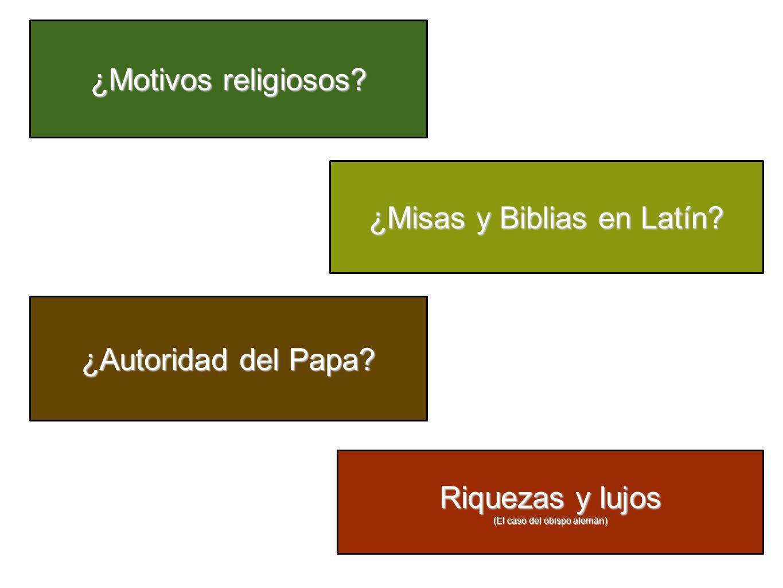 ¿Misas y Biblias en Latín