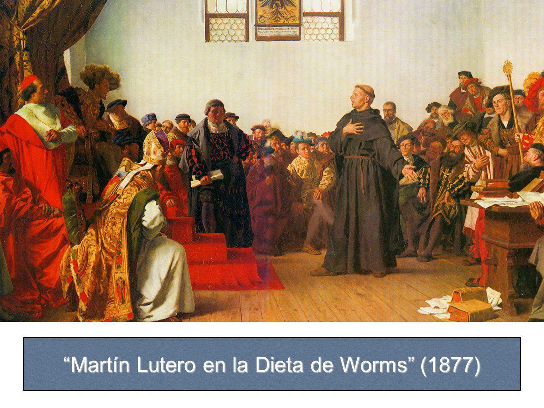 Martín Lutero en la Dieta de Worms (1877)
