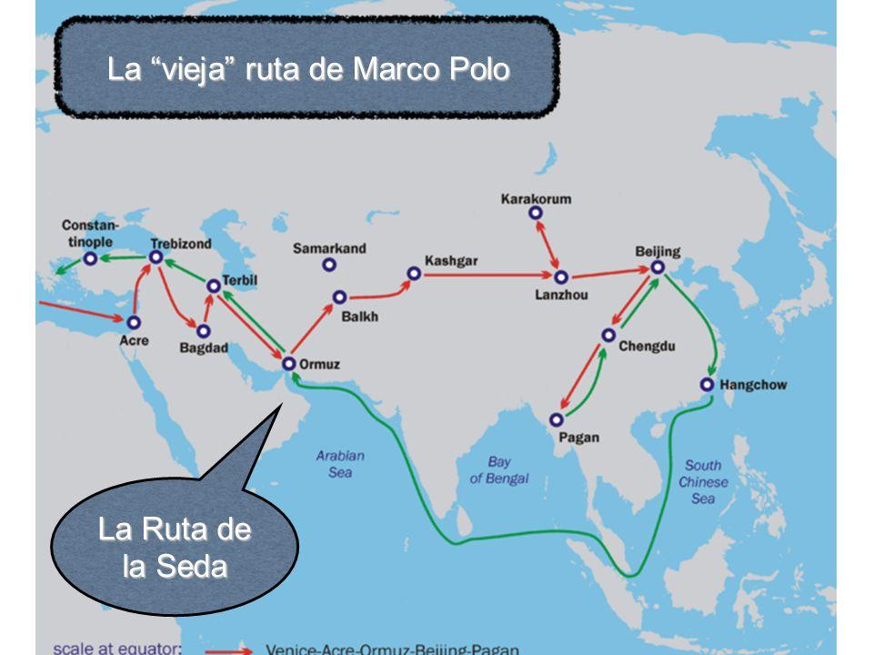 La vieja ruta de Marco Polo